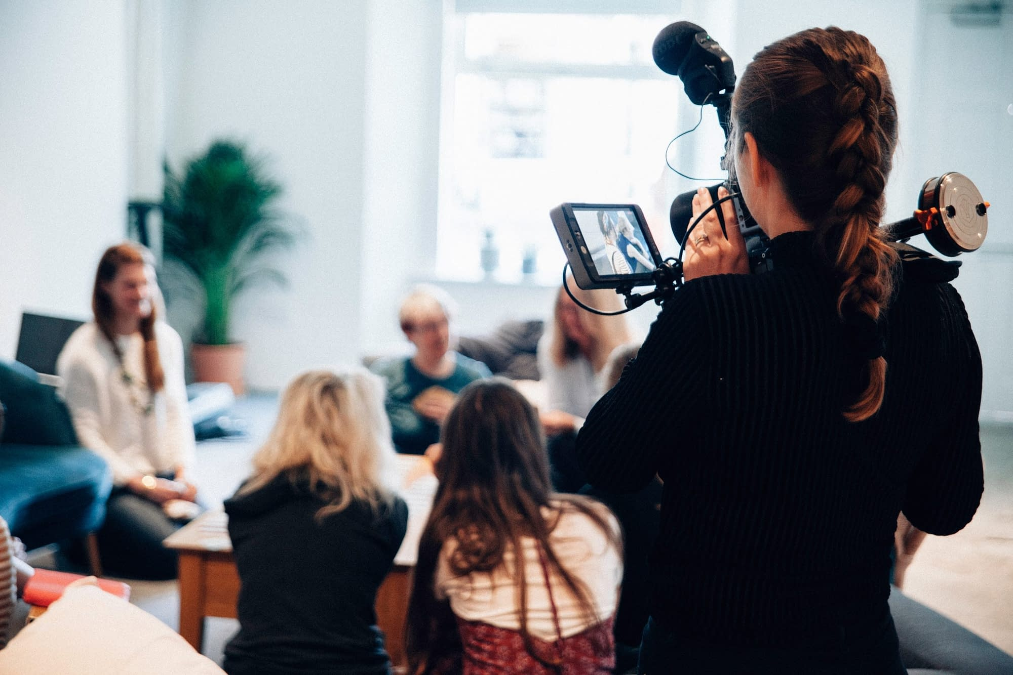 testimonials filming